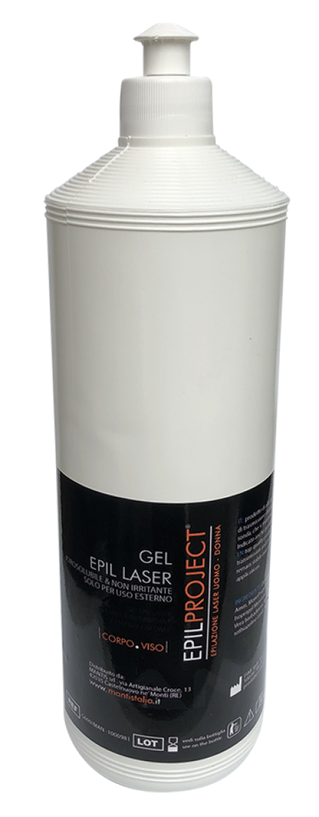 Epil project gel (contact gel laser) 10 flessen